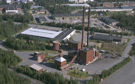 Ilmakuva Seinäjoen Energian toimipisteestä.