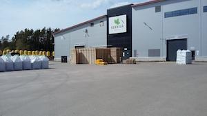 Kekkilän Euran tehdas.