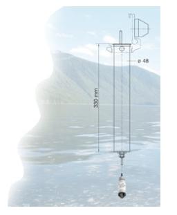 Keller-GSM2 sijoitustapa havaintokaivoon.
