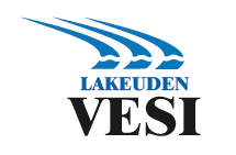 Lakeuden Vesi logo.