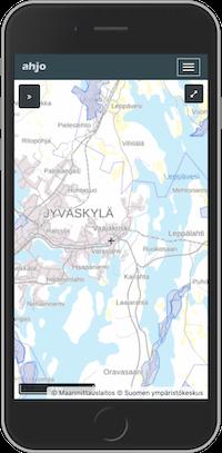 Kunnossapitojärjestelmän karttapalvelu ja pohjavesialueet