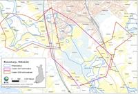 Karttakuva Riihimäen verkostoseurannan alueesta.