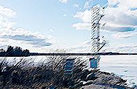 Mittausasema kerää säädataa Erkenin alueella Masinotekin EMMI-järjestelmään Uppsalan yliopiston Erkenin luonnontieteelliselle tutkimusasemalle.